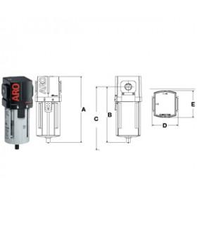 "Filter 1/4"" Model 1000 Typ F 1387 Min/liter"