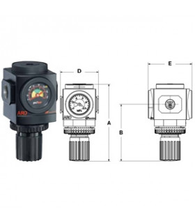 "Regulator 3/8"" Typ R 3199 Liter/min"