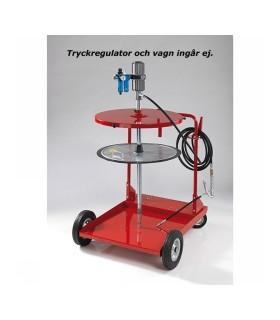 Smörjutrustning Kompl.560-600mm Utan Vagn