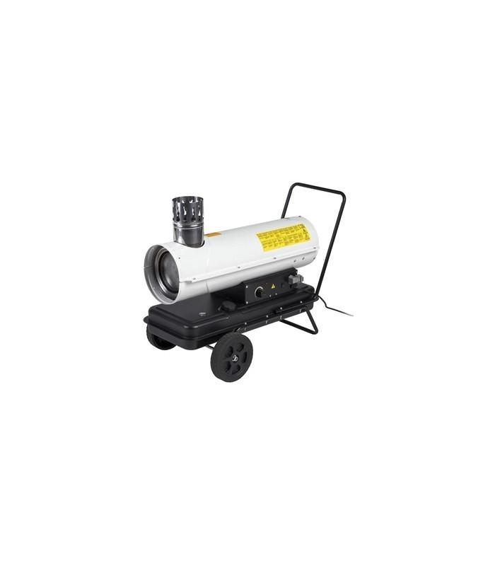 Dieselkanon med skorsten 20 KW