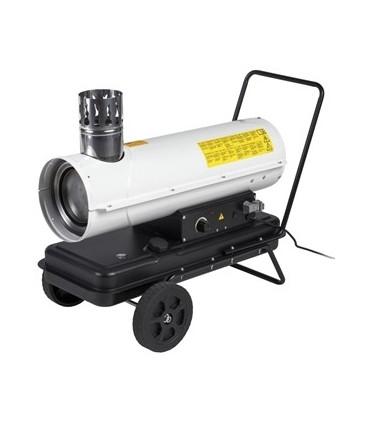 Dieselkanon 20kw Med Skorsten Kinlux