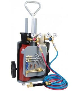 Gassvetskärra Whc11 Kompl Med Regulatorer O 10m Slang