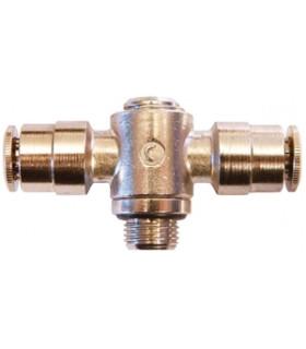 """Pa Koppling-t 6mm-g1/8"""" Utv"""