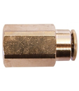 """Pa Koppling 8mm Inv G1/4"""" Rak"""