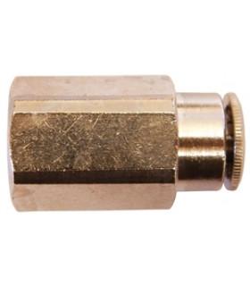 """Pa Koppling 6mm Inv G1/4"""" Rak"""
