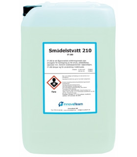 Smådelstvätt 210 25l
