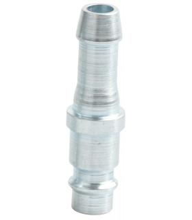 Nippel 8mm Slang. Euro-profil Härdat Stål Jwl