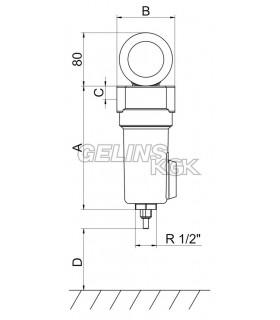 Ledningsfilter Fc1300 Aktivt Kolfilter