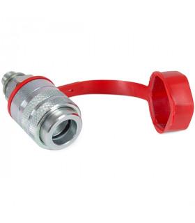 Aqi24 Snabbkoppling, Hondel, Medlåsring, Plast Skydd