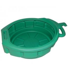 Grönt spilloljekärl på 17 liter