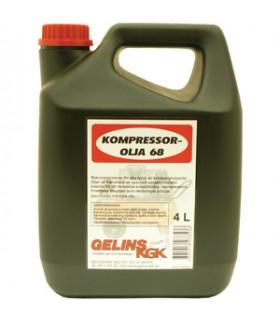 Kompressorolja 68 4 Liter...