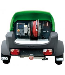 Dieseldrivet Dibo Tvättsläp...