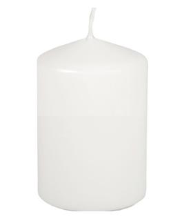 Blockljus Ø 69 mm x 100 mm vit