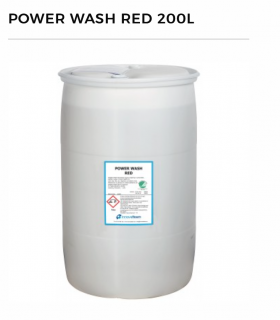 Power Wash Red 200l...