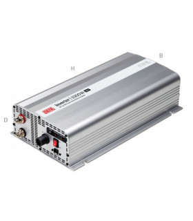 Inverter 600 W 12 V Plugin