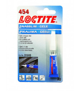 Loctite 454 Snabblim Gelé 3 G