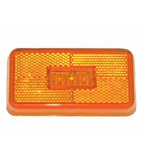 Sidomarkeringslampa Orange Led