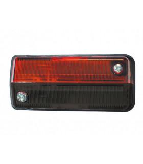 Positionslampa Röd/svart Hella