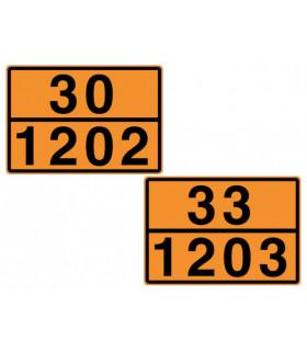 Adr-skylt Dieselolja 30/1202