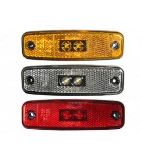 Positionslampa Röd Led 12-24 V