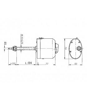 Doga Torkarmotor 112 12v 85 Gr