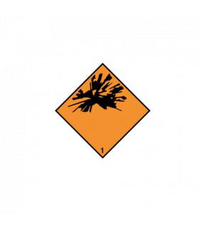 Varningsetikett Adr...