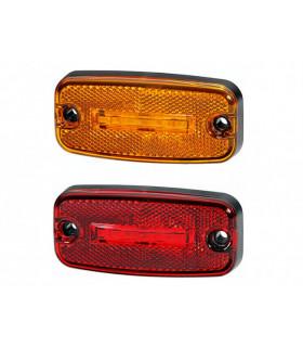 Positionslampa Röd Led 12 V