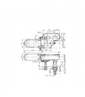 Doga Torkarmotor 316 12v 60 Gr