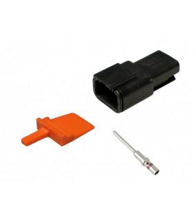 Dtm 3-polig Stiftlåsning