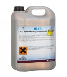 Alkaliskt lågskummande grovrengöringsmedel
