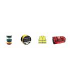 Kemtekniska produkter  -  Lim och tätning  -  Personlig skyddsutrustning  -  Slipmaterial  -  Sprayfärger  -  Tejp  -  Tvätt och städutrustning