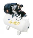 Enfas lågvarviga oljefria kompressorer på sjukhus