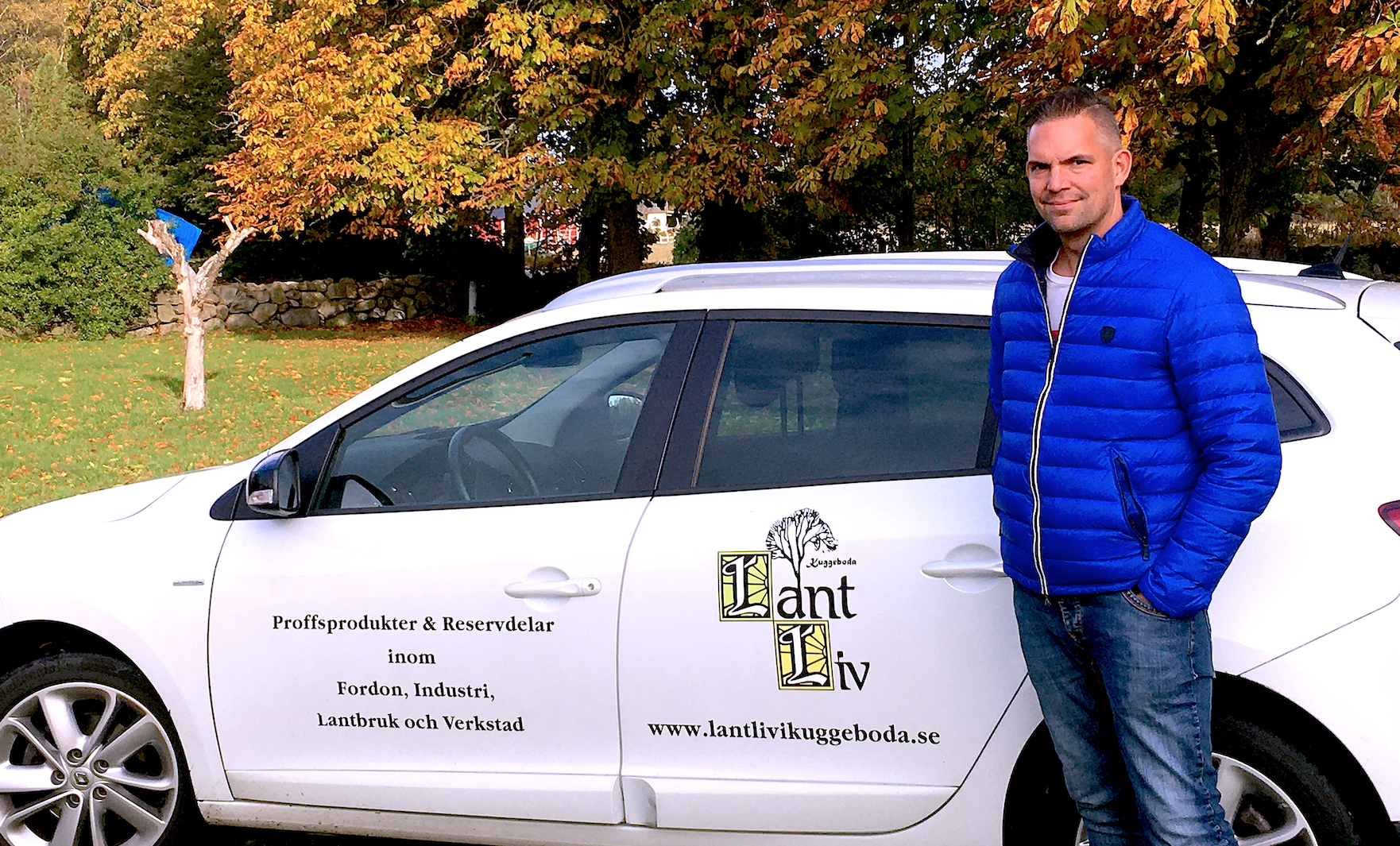 CEO för Lantliv i Kuggeboda AB - Billiga proffsprodukter för lantlbruk, industri, fordon och verkstad